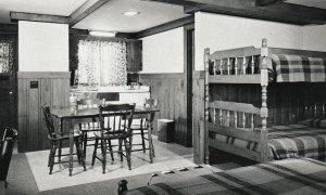 Vintage Postcard 1930's Kern Inn New Motel Modern Housekeeping Eustis Maine ME