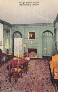 Raleigh Tavern Parlour Williamsburg Virginia