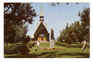 Man Taking Picture, Church of St Charles, Grand Pre, Nova Scotia, The Book Room