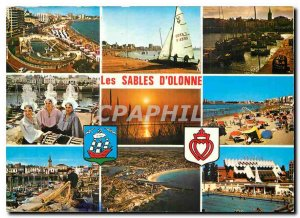 Modern Postcard The Tourist Vendee Les Sables d'Olonne
