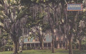 Home at Laurel Hill, near St. Francisville, Louisiana, PU 1950