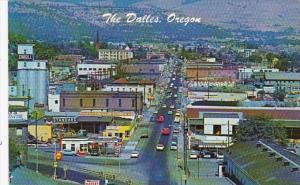 Oregon The Dalles Aerial View On The Columbia River