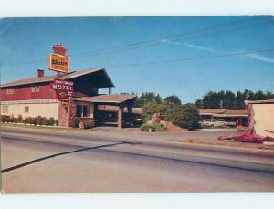 Pre-1980 MOTEL SCENE Fort Bragg California CA hk1199