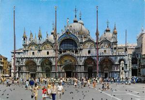 Italy Venezia Basilica S Marco Die Markusbasilika
