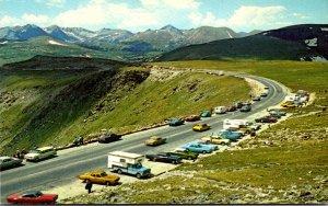 Rocky Mountain National Park Trail Ridge Road 1976