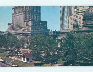 Pre-1980 TOWN VIEW SCENE Montreal Quebec QC p9840