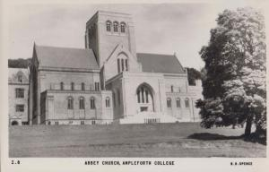 Abbey Church Ampleforth College Mint Friths Yorkshire Real Photo Postcard
