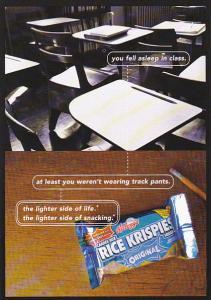 Advertising Rice Krispies Squares Kelloo Canada
