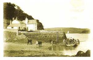 Nostalgia Postcard King Harry Ferry, River Fal, Cornwall Reproduction Card NS45