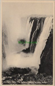Zambia Postcard - Victoria Falls - The Eastern Cataract at Low Water   RS25620