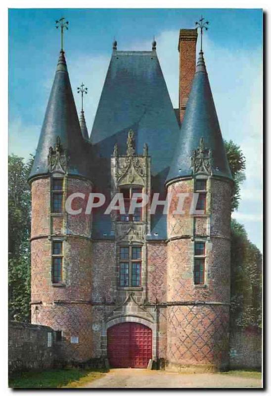 Modern Postcard Castle of Carrouges (Orne) the House of the Cardinal the Huntsm