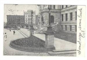 City Hall Plaza, Worcester,Massachusetts,PU-1906