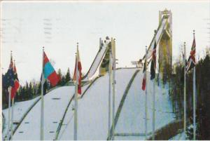 Olympic 70 and 90 Meter Ski Jumps At Intervales Lake Placid New York