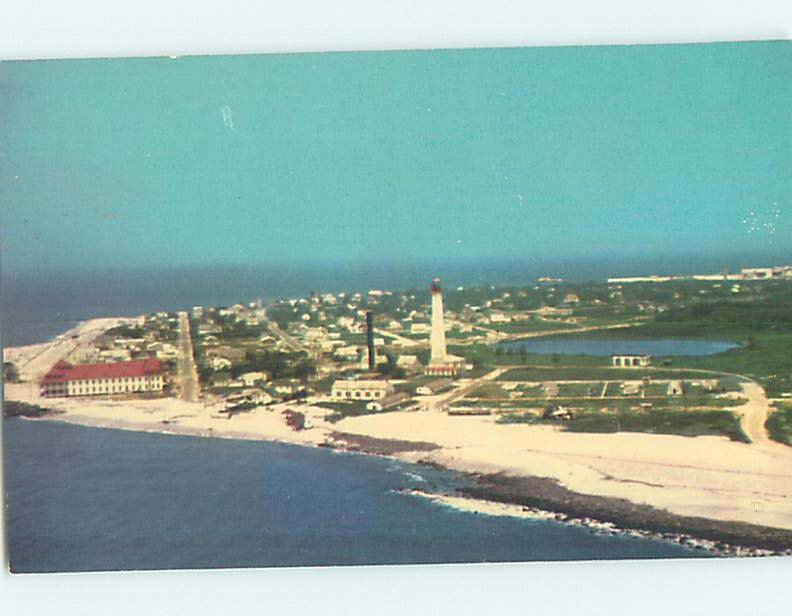 Pre-1980 AERIAL VIEW Cape May - Near Wildwood & Vineland New Jersey NJ AC9459