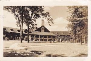 RP: The Log Chateau , Seigniory Club , Quebec , Canada, 30-40s