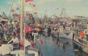 GASPESIE , Quebec , 1950-60s ; Blessing of Fishing boats