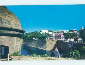 Unused Pre-1980 PANORAMIC VIEW San Juan Puerto Rico PR H9910