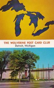 Michigan Detroit The Wolverine Post Card Club