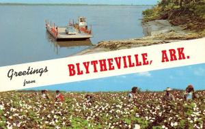 Blytheville Arkansas~The Delta Area Of The Great Mississippi Valley~1960 PC