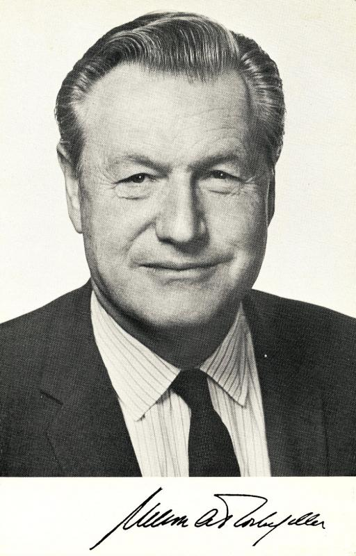 Famous People - Nelson Rockefeller. Lyrics to Rock-in for Rocky