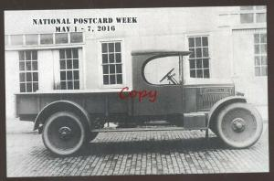 CLYDESDALE MOTOR TRUCK MODEL 1 OA CLYDE OHIO 1923 MODEL POSTCARD