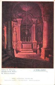 Poland Wieliczka Chapelle de St. Antoine, St. Antonius