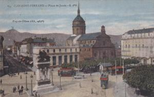 CLEMONT FERRAND, Puy-de-Dome, France; Place de Jaude - G. d'O, Street Cars, 0...