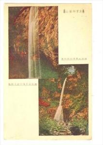 Two waterfalls, Japan, 10-30s