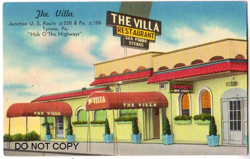 The Villa Restaurant, Tyrone PA