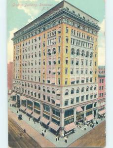 Divided-Back GRANITE BUILDING Rochester New York NY G2574