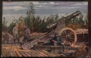 Mint Germany PPC Picture Patriotic Postcard WWI Weltkrieg Loading The Canon