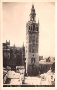 Spain Old Vintage Antique Post Card La Giralda Sevilla Unused