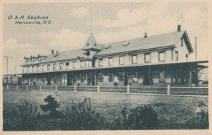 KENTVILLE , Nova Scotia , 00-10s ; D.A. Railroad Station