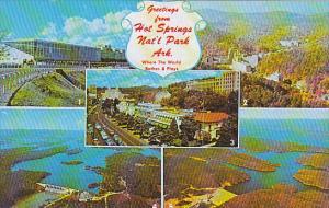 Arkansas Hot Springs Greetings From Multi View