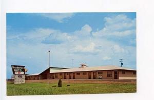 Marysville KS Thunderbird Motel US 36 & 77 Postcard
