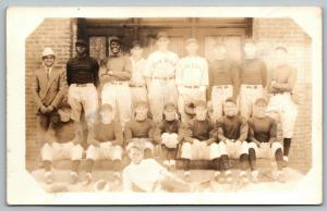 Lincoln Nebraska~State Penitentiary~Prison Baseball Team~1930s RPPC