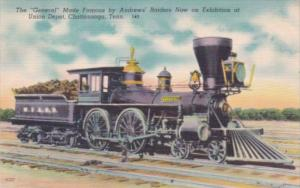 Trains The General Made Famous By Andrews' Raiders On Exhibition At Union Dep...