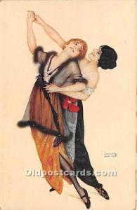 Danseuses de Montmartre # 72 Marque L-E Artist Raphael Kirchner Unused light ...