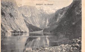 B37474 Konigsee Der Obersee  Germany