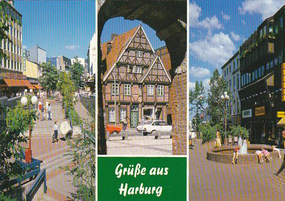 Germany Gruesse Aus Harburg Multi View