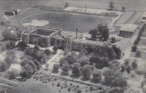 West Virginia Lewisburg Greenbrier Aerial View Of Greenbrier Miliary School A...