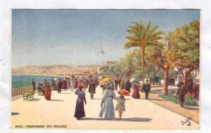 People Walking, Promenade Des Anglais, Nice (Alpes Maritimes), France, 1900-1...