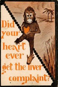 Did your heart ever get the liver complaint?    Artist: Cobb Shinn