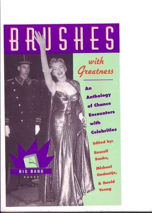 Brushes with Greatness, An Anthology, Marilyn Monroe, Big Band Books