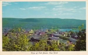 New York Port Jervis Aerial View