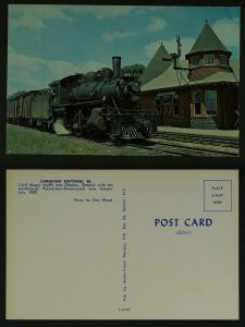 Canadian National 86 Chesley ontario 1957 ( publ 60s/70s)