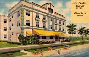 Florida Miami Beach Edgewater Beach Hotel Curteich