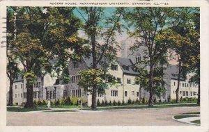Illinois Evanston Rogers House Northwestern University 1930
