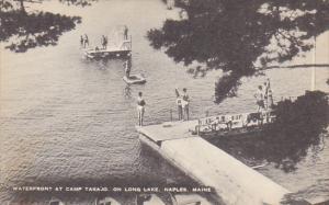 Maine Naples Waterfront At Camp Takajo On Long Lake Artvue