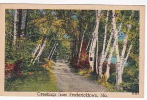 Missouri Greetings From Fredericktown